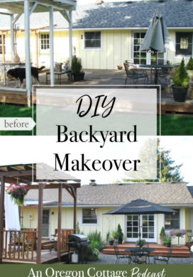 Podcast Ep. 3: Tree Planting Fails, DIY Backyard Makeover & Canning Secrets