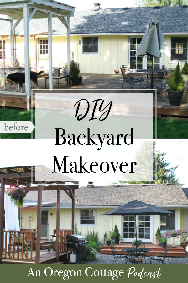 Join us as we talk about the ups & downs of transplanting native trees, our DIY backyard makeover, and easy canning tutorial and recipes. #DIY #Backyard