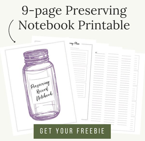 preserving notebook