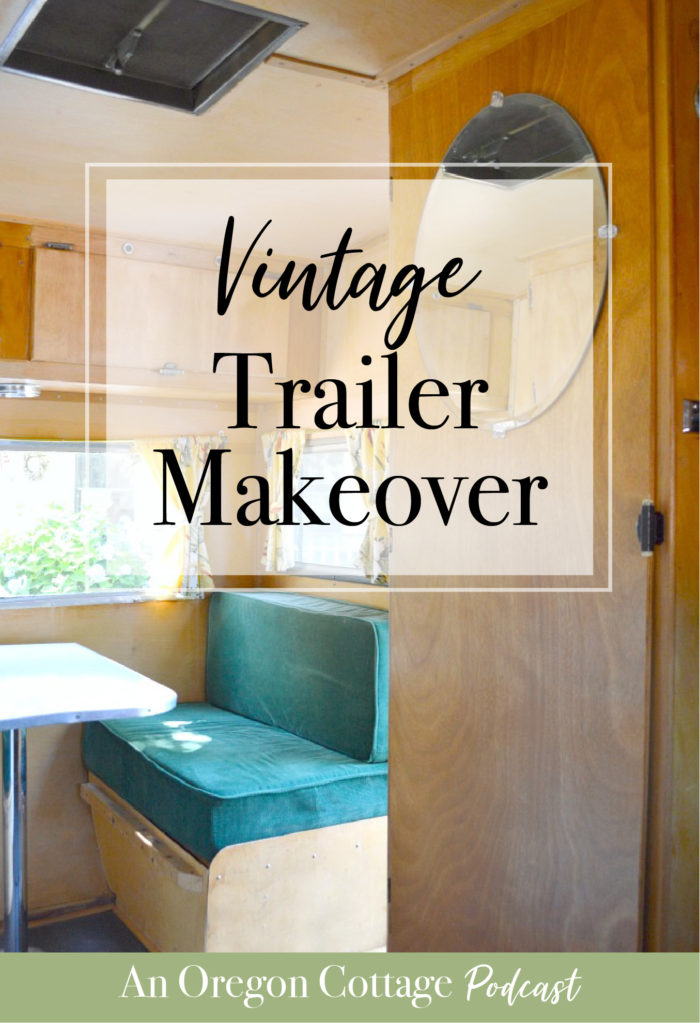A discussion of our 1957 Dalton trailer and it's pretty easy makeover, the camping food you should never give dogs, and the foil dinner you do want. #vintage #trailer