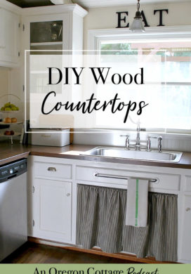 Podcast Ep. 8: DIY Wood Countertops & Homemade Pantry Basic Recipes