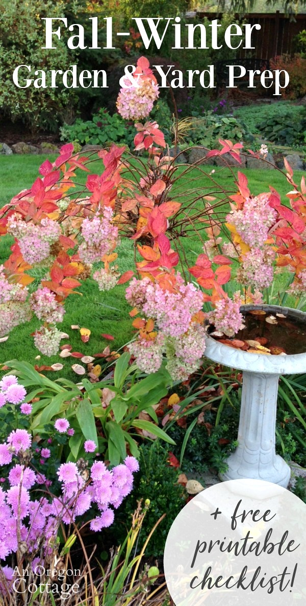 Get your garden winter ready this fall with these tips and free printable checklist