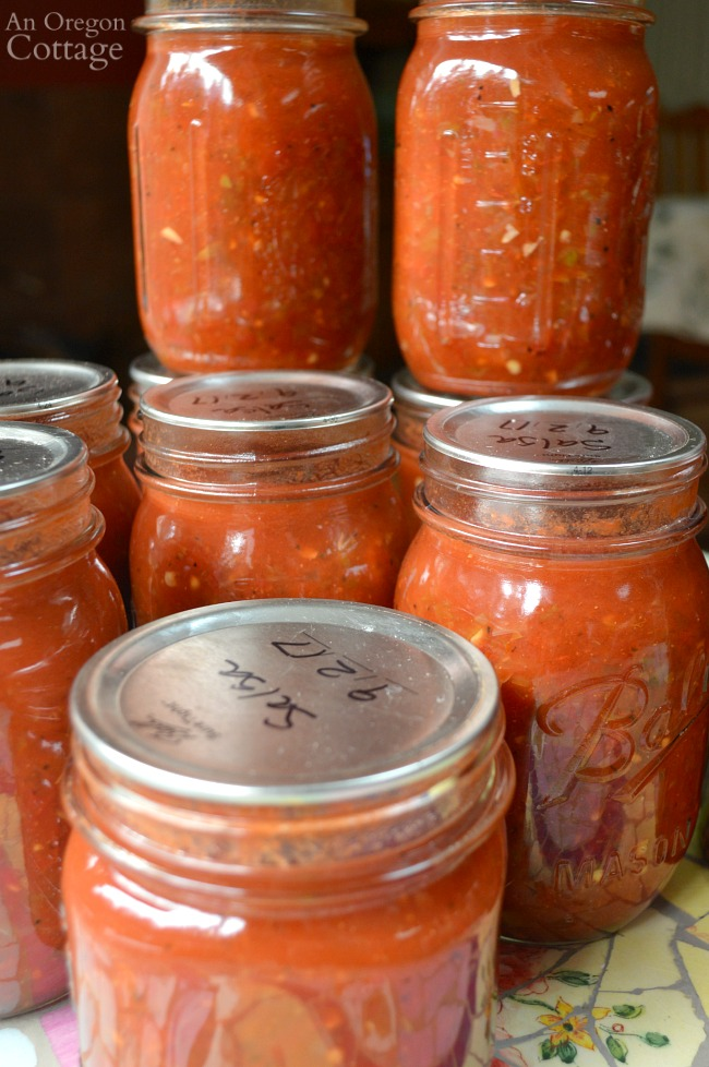 Tomato Recipes-canned best salsa