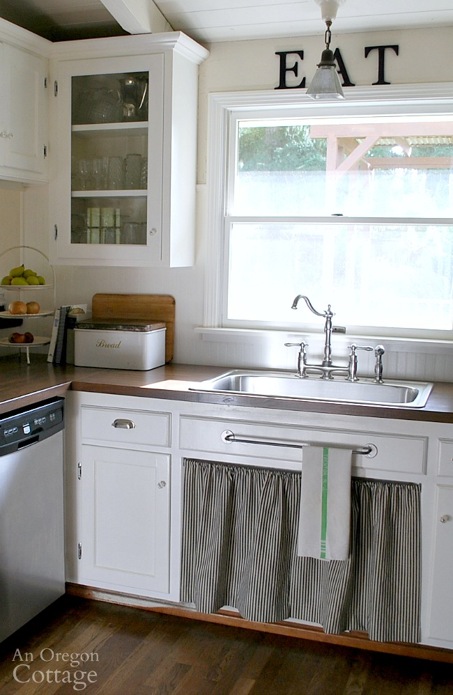 kitchen remodel-DIY wood countertops