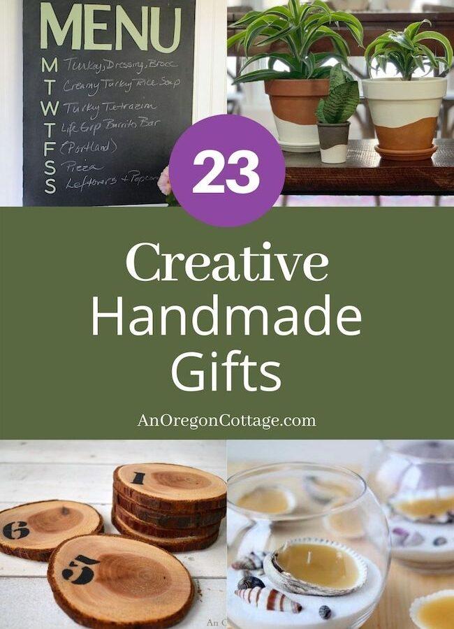 23 creative handmade gifts collage2