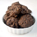 Low Sugar Dark Chocolate Coconut Clusters