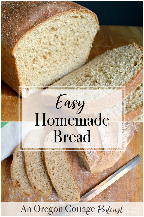 It really is possible to make easy homemade bread! Join us as we talk about our experiences with bread, get recipe ideas, and the tools that make it easier. #homemade #bread