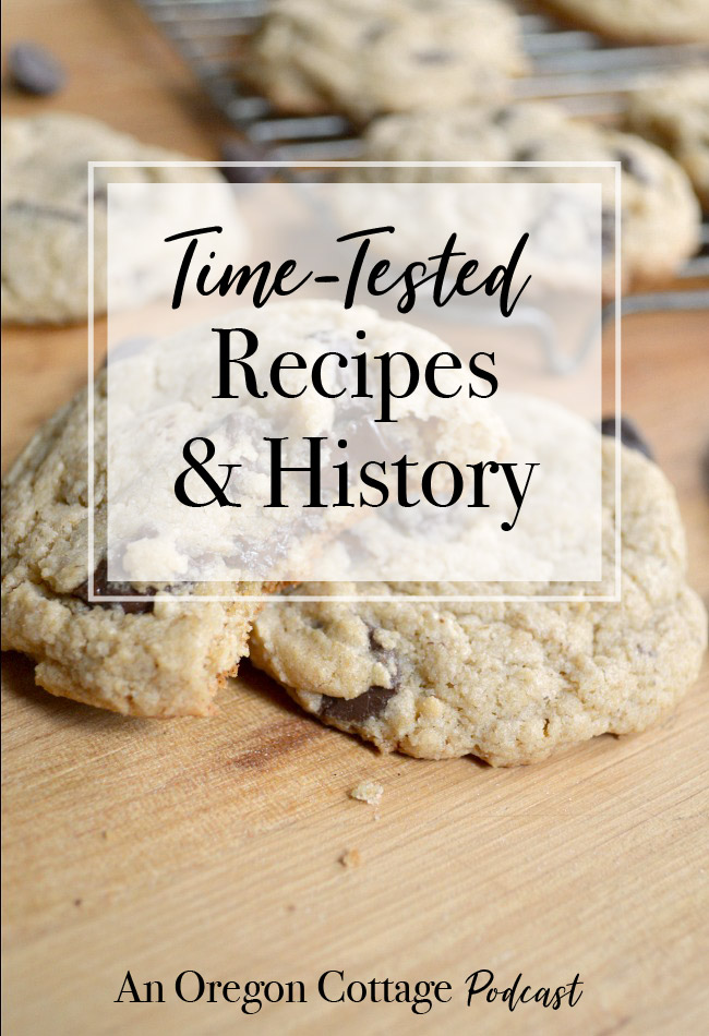The episode where we share a bit of our history, what brought us to start a podcast, some favorite stories, and the time-tested recipes we still enjoy. #recipes