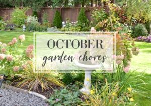 October Garden Task Checklist