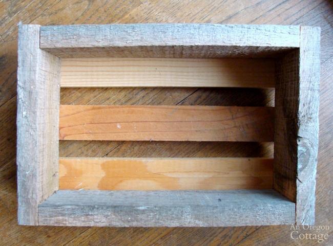 Rustic DIY wooden box