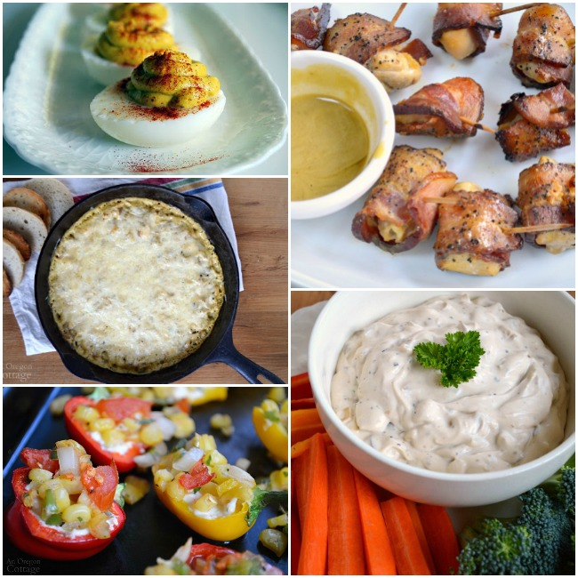 Appetizers for watch parties