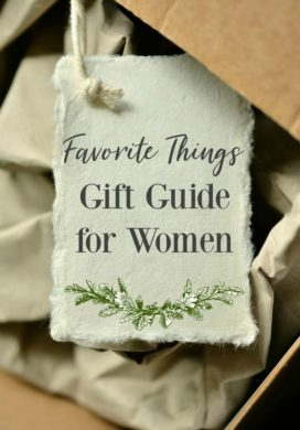 Favorite Things Gift Guide for Women-2017