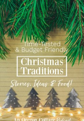 Podcast Ep. 15: Our Christmas Traditions – Stories, Ideas & Food (of course!)