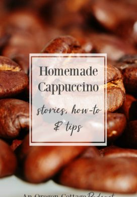 Podcast Ep. 13: Coffee Love, Homemade Cappuccino & Gift Idea