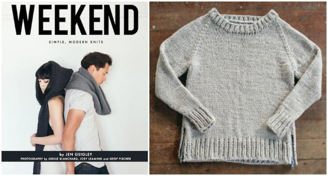 Weekend knits
