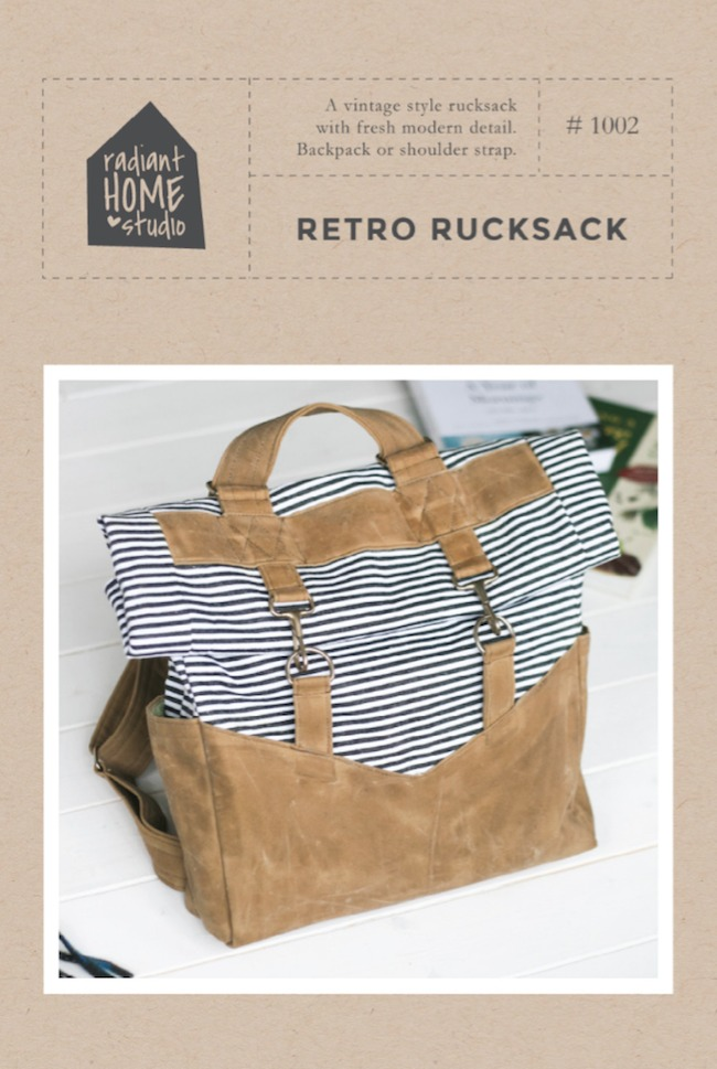 retro rucksack-pattern in HWLB