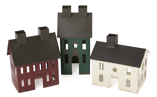 Factory direct craft colonial metal house set