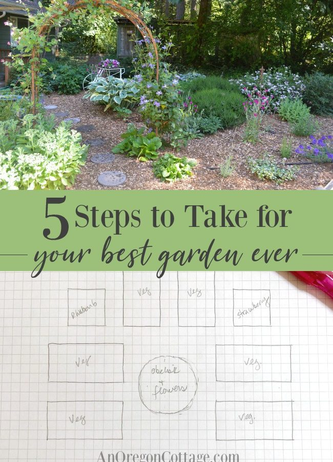 5 steps to take before the season for your best garden ever.