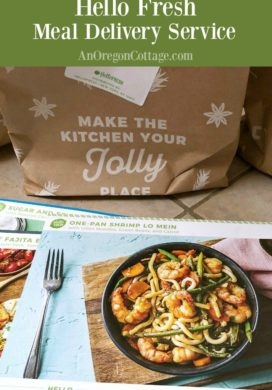 An honest review of Hello Fresh meal delivery service