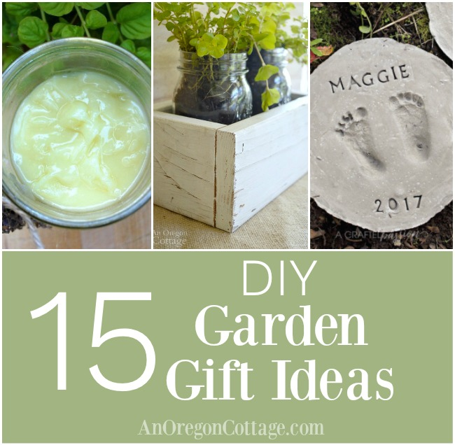 DIY garden gift ideas