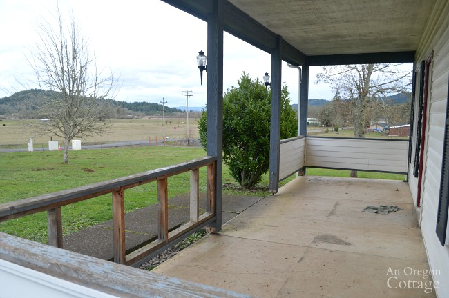 Farmhouse Fixer porch view