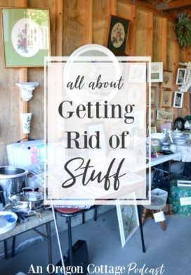 Podcast Ep. 22: How to Get Rid of Stuff