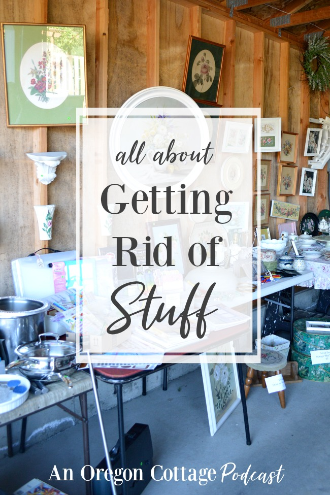 Podcast Ep. 22- All about getting rid of stuff