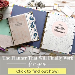 The Flexible Planner 2018