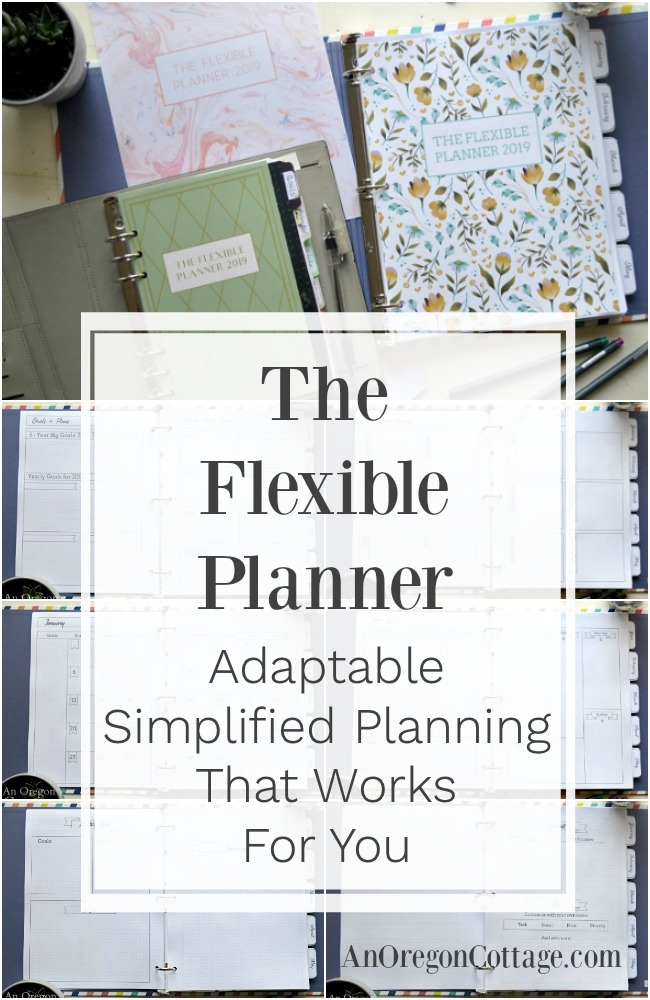 The Flexible Planner 2019