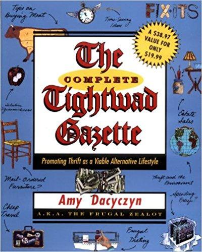 tightwad gazette book cover