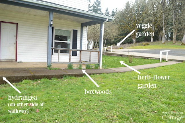 front yard porch plan details