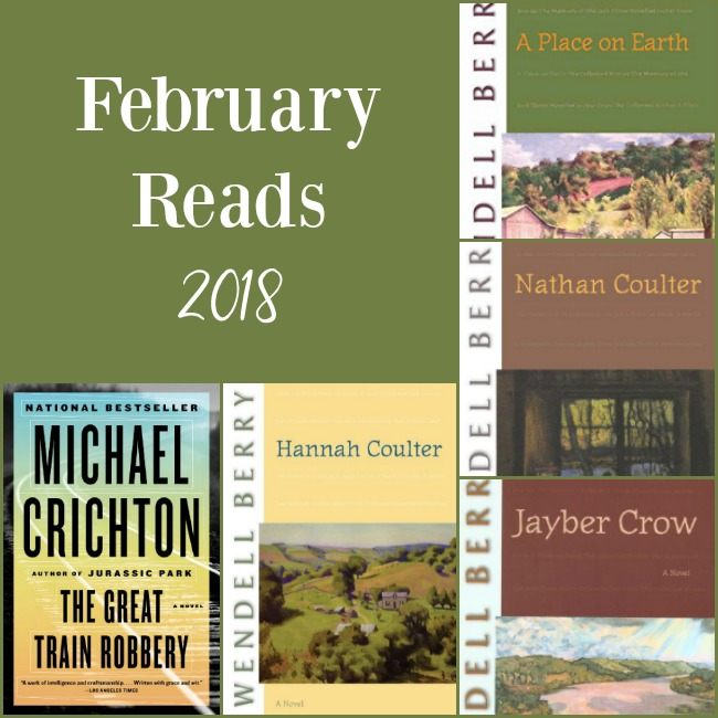 February 2018 Books Read