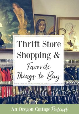 Podcast Ep. 30: Our Thrift Store Shopping History & Favorite Things to Buy