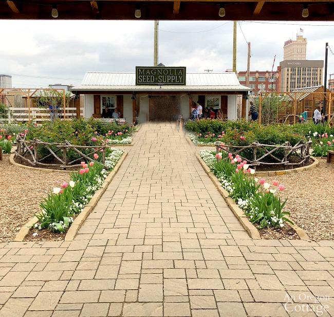 Spring garden ideas-Garden path to Magnolia Seed and Supply