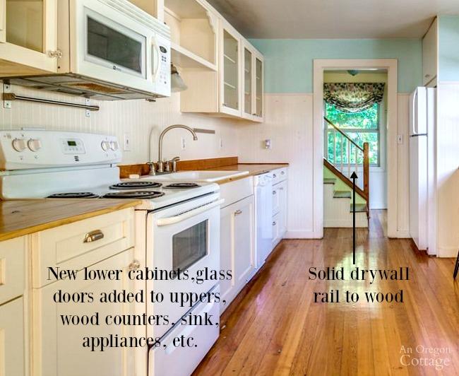 DIY Remodeling-bungalow kitchen