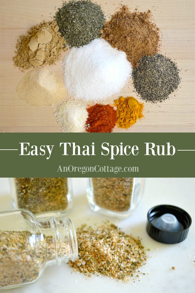 Easy Thai Spice Rub pin
