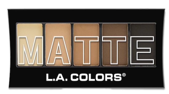 LAColors Matte Eyeshadow pallet