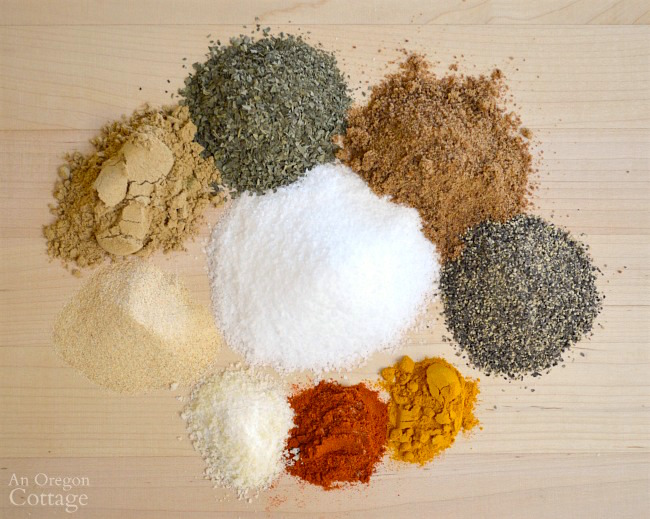 Thai spice rub recipe ingredients