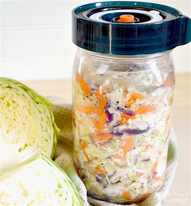 Easiest homemade sauerkraut