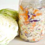 Easy mild homemade sauerkraut