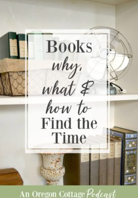 Books on shelf-why and what to read