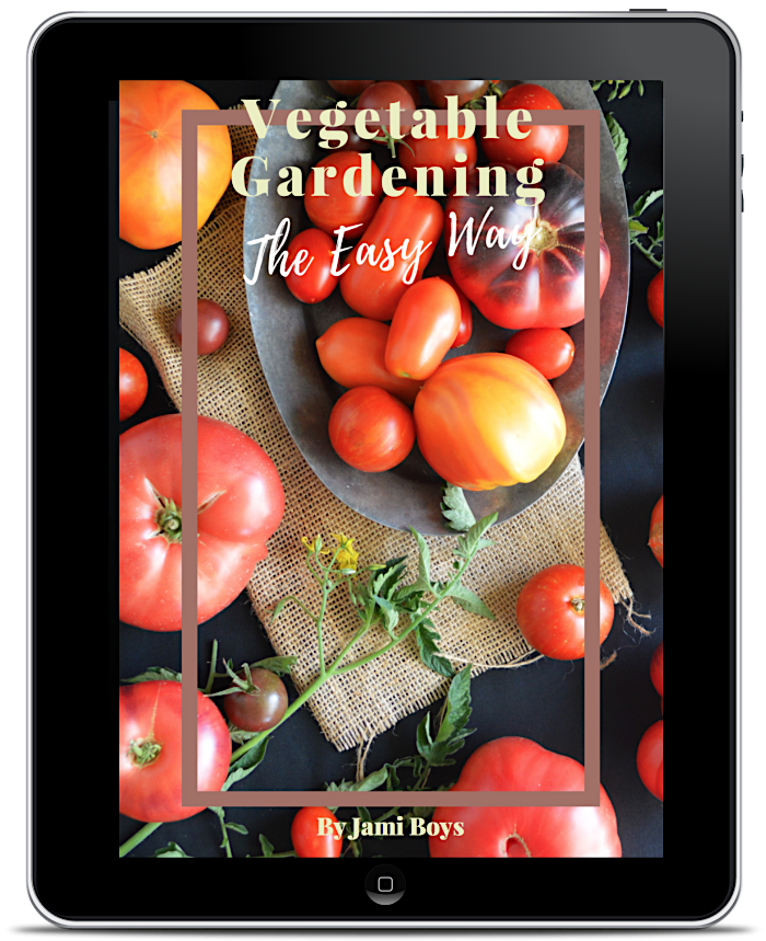 Vegetable Gardening The Easy Way cover
