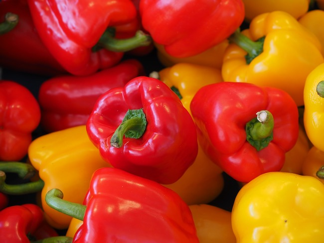 Ultimate sweet pepper guide-colored peppers