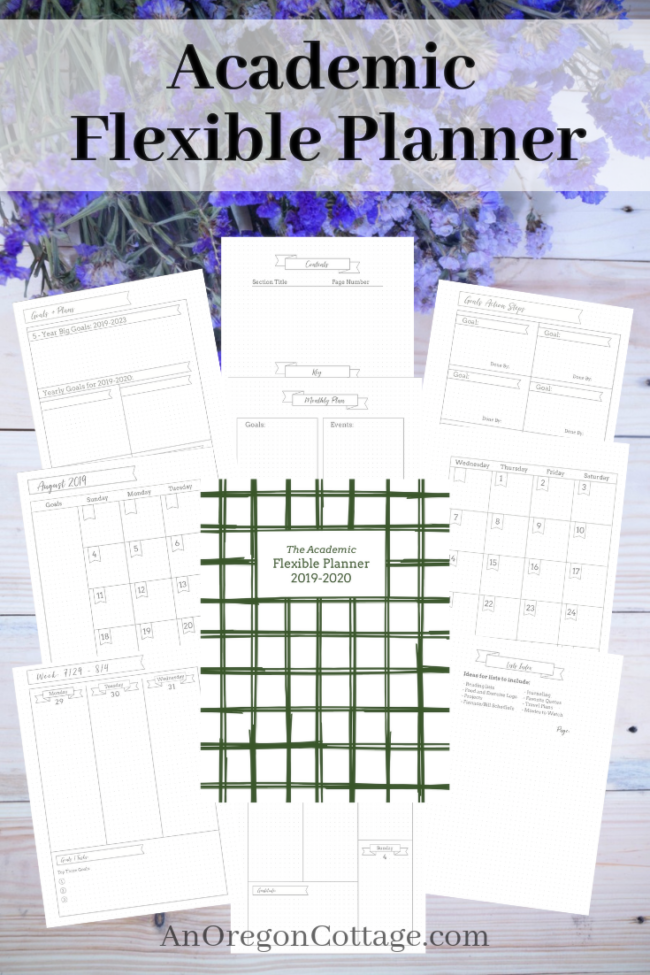 Academic Flexible Planner_2019-20