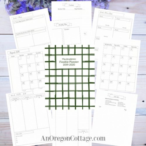 Academic Flexible Planner_2019-20 pages
