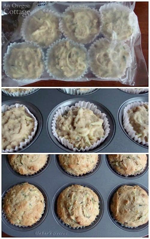 Cinnamon-Zucchini-Freezer-Muffins_freezer to oven