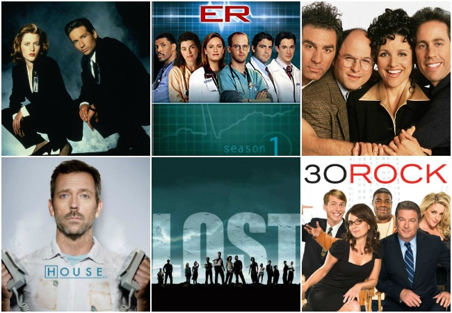 Favorite TV-1990s-2000s