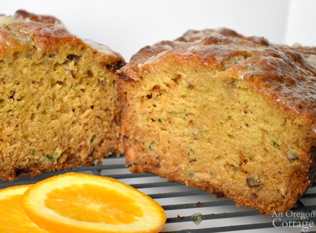 Orange Zucchini Bread Recipe