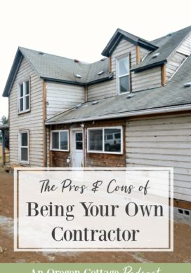 Podcast Ep 41: Pros & Cons of Being Your Own Contractor + Preserving Recipes & More