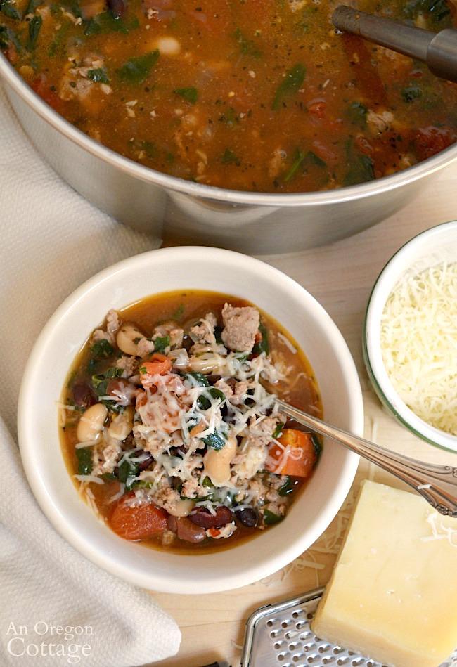 Rustic Italian Sausage Soup